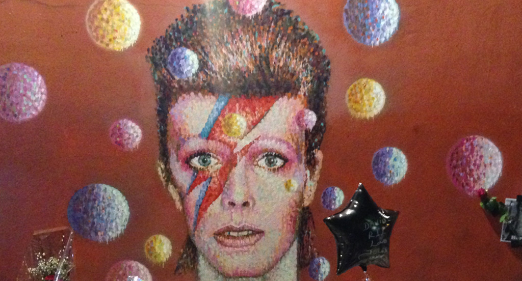 David Bowie Downtown Denizen and Financial Innovator